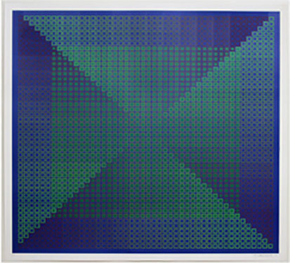 , 'Composite - Blue with Green ,' 1981, David Richard Gallery