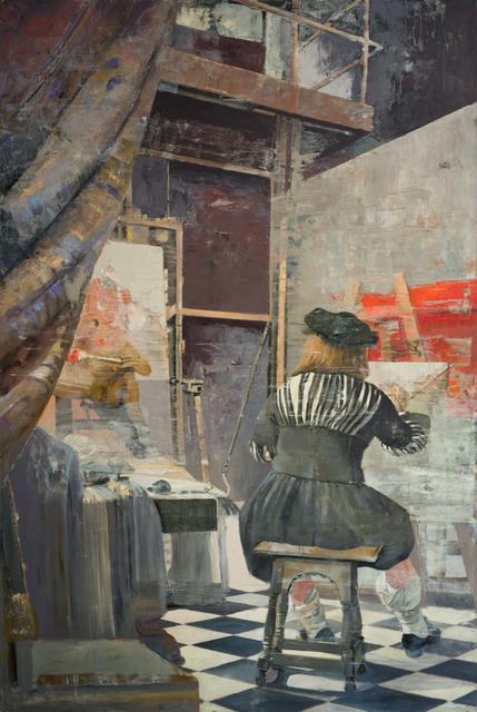 Patrick Pietropoli, 'Vermeer at Work', 2019, M Fine Arts Galerie