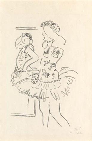 , 'Danseuse au Miroir,' 1927, Galerie Maximillian