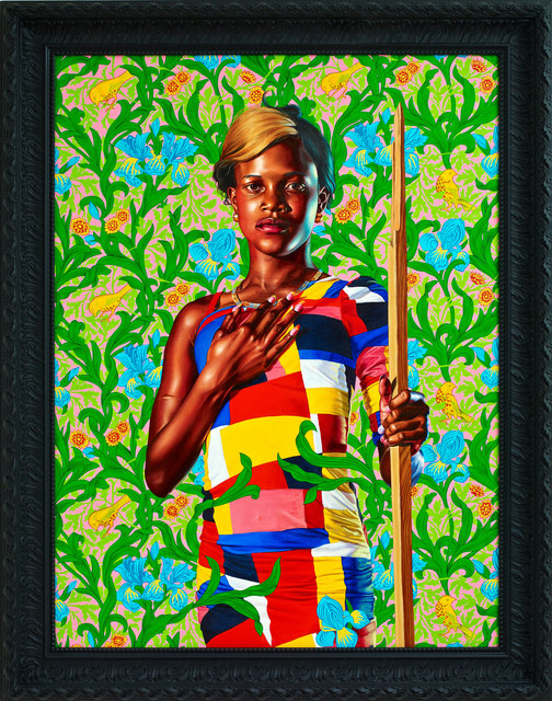 Kehinde Wiley, 'Saint John the Baptist in the Wilderness', 2013, Seattle Art Museum