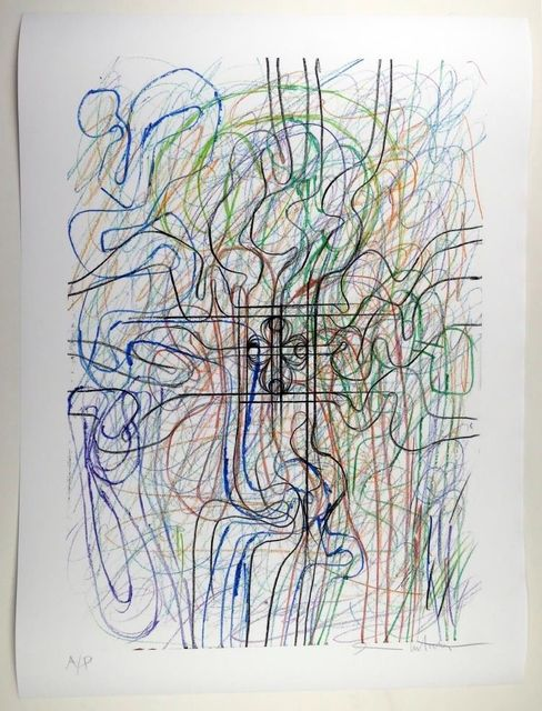 Hermann Nitsch, 'Ohne Titel II', 2015, Glenda Cinquegrana Art Consulting