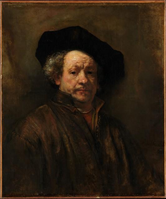 Rembrandt van Rijn, 'Self-Portrait', 1660, The Metropolitan Museum of Art