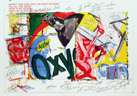 James Rosenquist, Oxy, One Cent Life