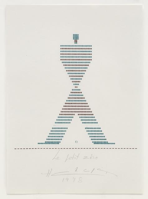 , 'Le Petit Zéro,' 1978, Richard Saltoun