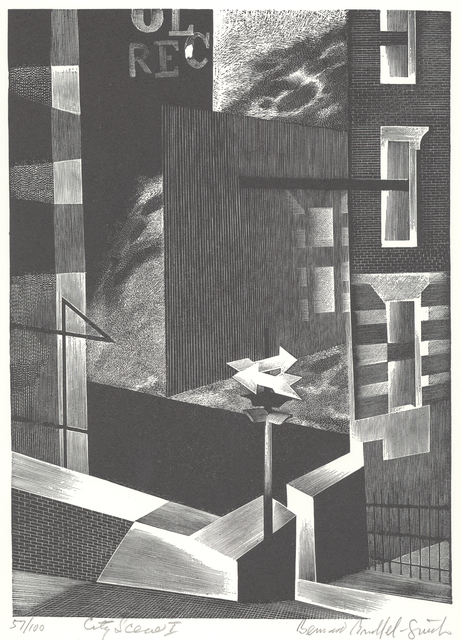 , 'City Scene I [New York],' 1949, Childs Gallery