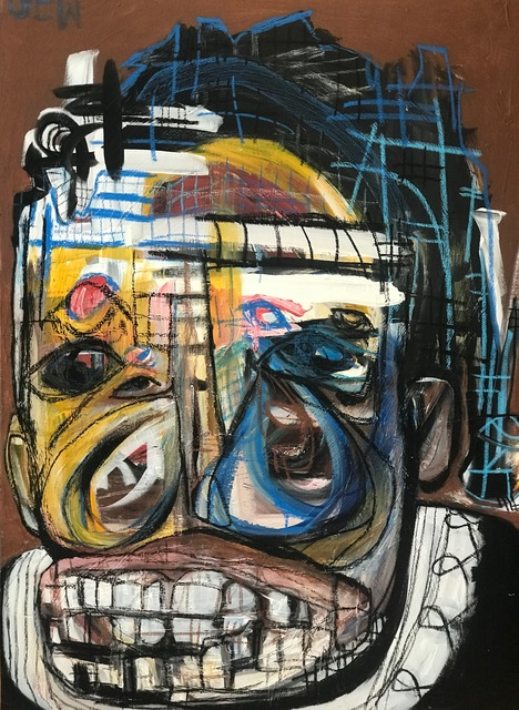 Genesis Tramaine, 'Saint. Nana. JEREMIAH', 2018, Richard Beavers Gallery