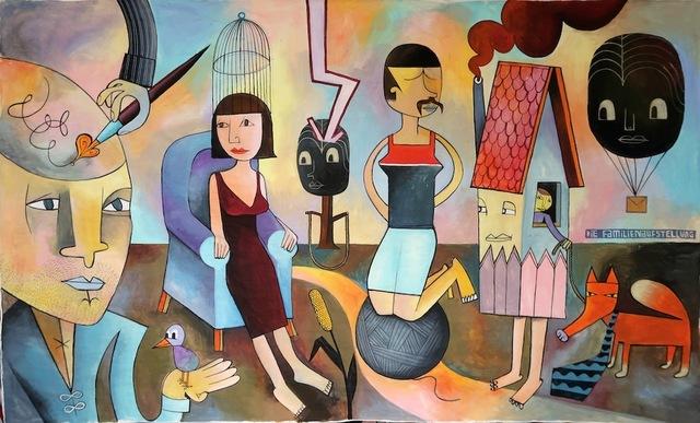 , 'Familienaufstellung,' 2017, Die Kunstagentin