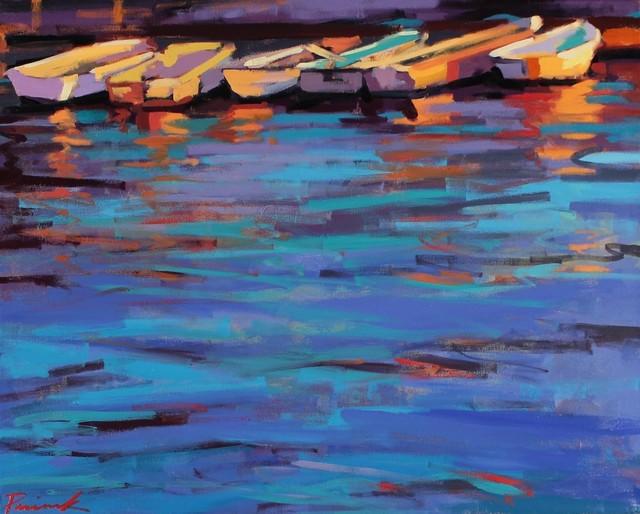 , 'Reflective Dinghy,' , LaMantia Fine Art Inc.