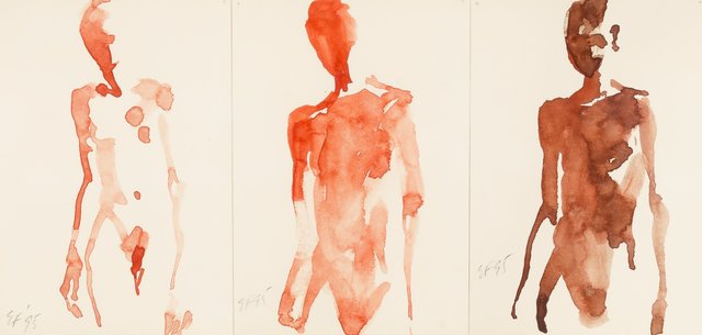 Eric Fischl, 'Untitled (in 3 parts)', 1995, Heritage Auctions