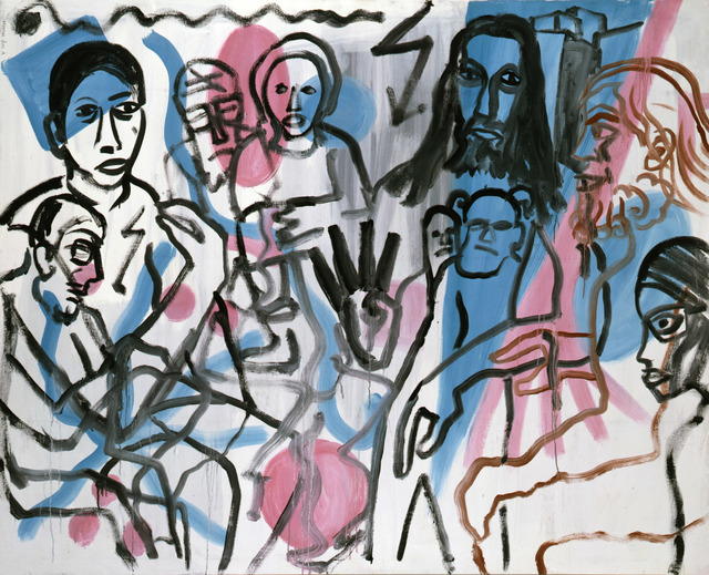 , 'Geburtstag bei Harald (Birthday at Harald's),' 1977, Michael Werner Gallery