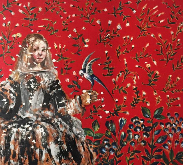 , 'Blue Bird,' 2017, Lois Lambert Gallery