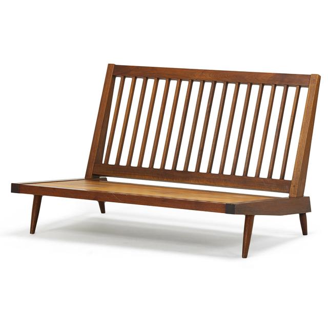 George Nakashima, 'Cushion Sofa, New Hope, PA', 1957, Rago/Wright