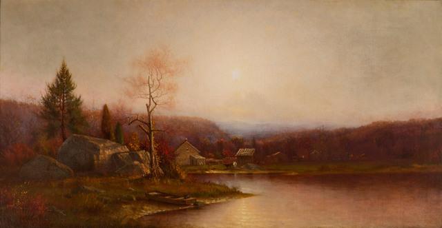 Ralph Albert Blakelock, 'Pioneer Home', 19th -20th Century, Vose Galleries