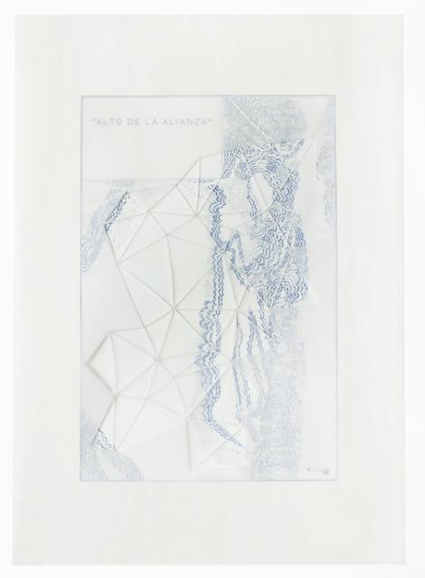"Sandra Nakamura, 'No title III, from the series ""Colourless into White""', 2016, Wu Galeria"