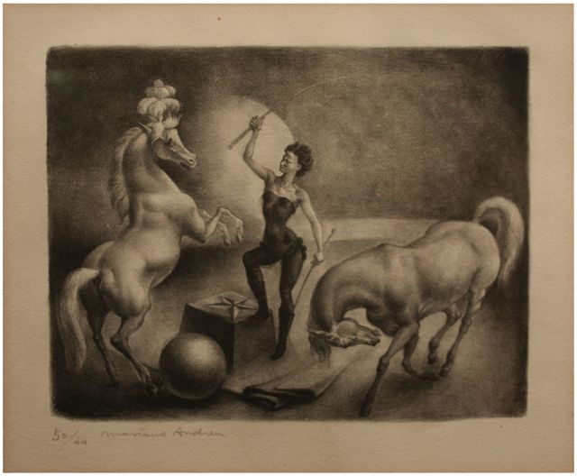, 'Lady of horses,' ca. 1917, Artur Ramon Art