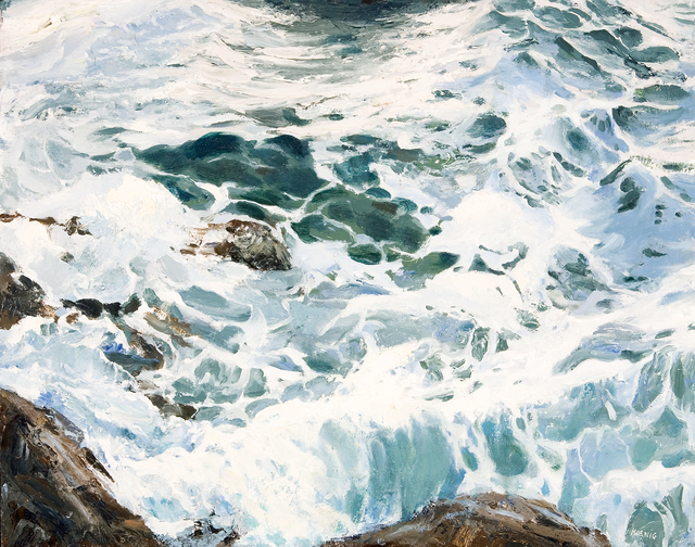 , 'The Sea's Intricate Lacework,' , Dowling Walsh