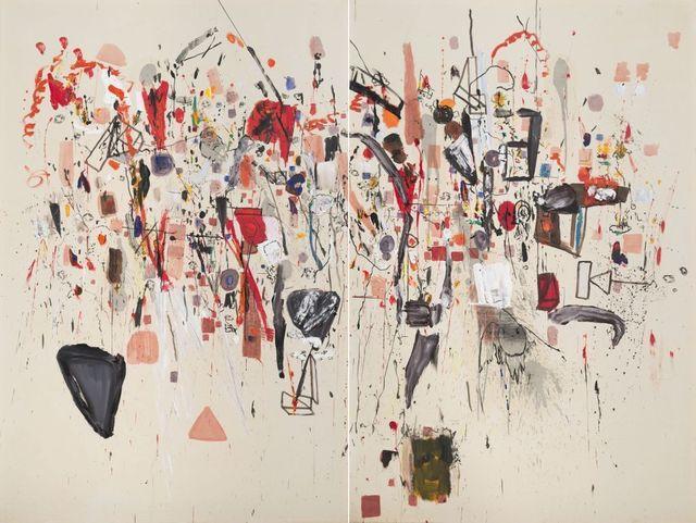 , 'Diptico,' , Galeria Sur