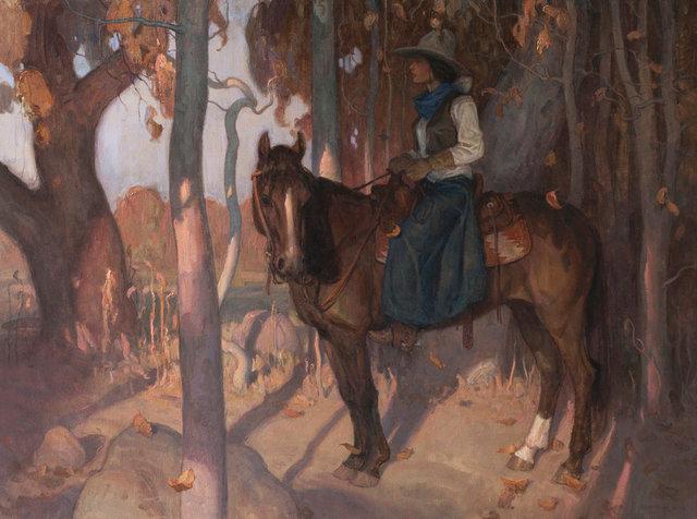 ", '""Autumnwood"",' 2018, Maxwell Alexander Gallery"