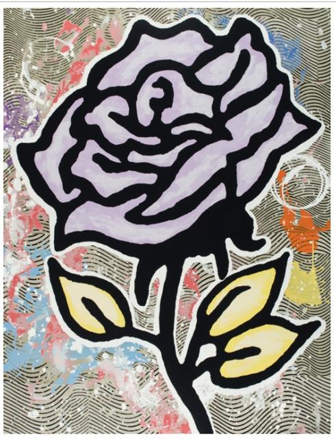 Donald Baechler, 'Violet Rose', 2015, New Gallery of Modern Art
