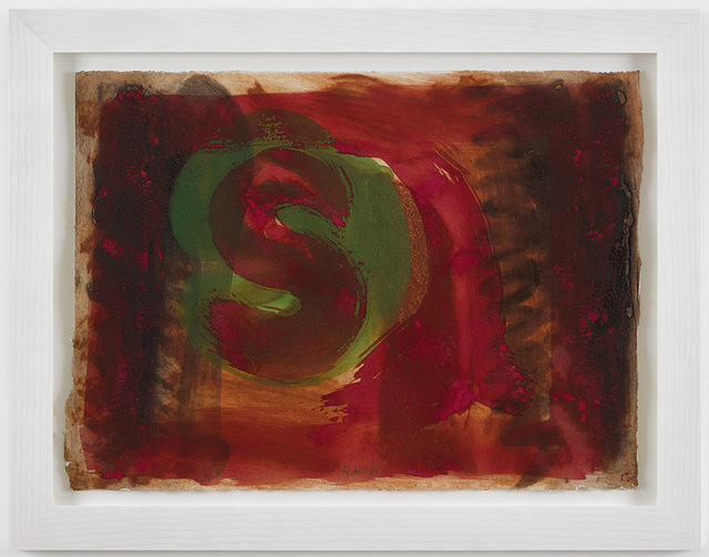 , 'Red Listening Ear,' 1986, Alan Cristea Gallery