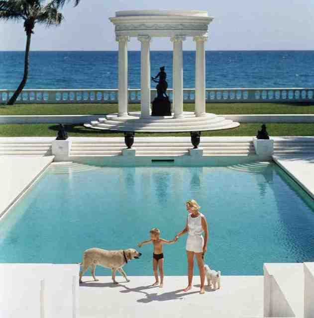 , 'Nice Pool,' 1955, IFAC Arts