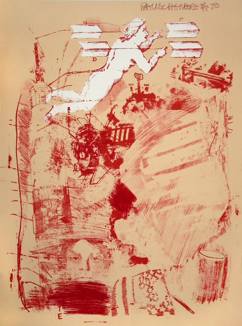 Robert Rauschenberg, 'Score, Stoned Moon Series', 1969, Print, Lithograph in color, Woodward Gallery