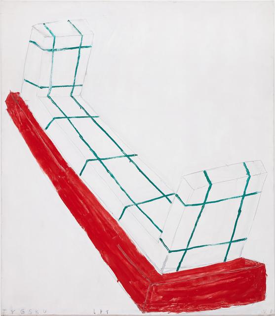 , 'Tygskulptur,' 2001, Galerie Nordenhake