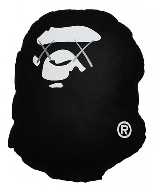 KAWS, 'Limited Edition Bathing Ape cotton Pillow', 2001, EHC Fine Art Gallery Auction