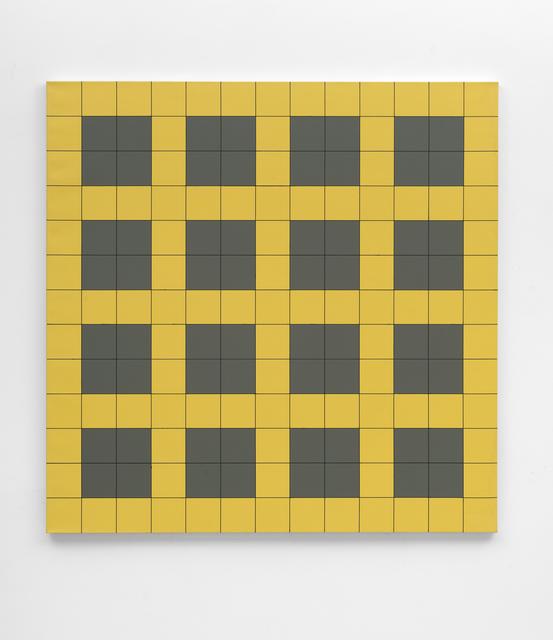 , 'Untitled (yellow-grey),' 1993, FELD+HAUS