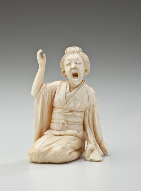 , 'Woman Singing (Japan),' 1868-1912, Newark Museum