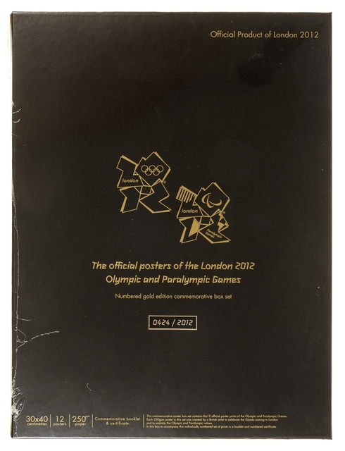 Various Artists, '2012 Olympic Games Limited Edition Box Set', 2012, Forum Auctions