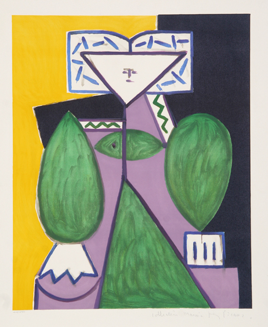 Pablo Picasso, 'Femme en Vert et Mauve, 1947', 1979-1982, RoGallery
