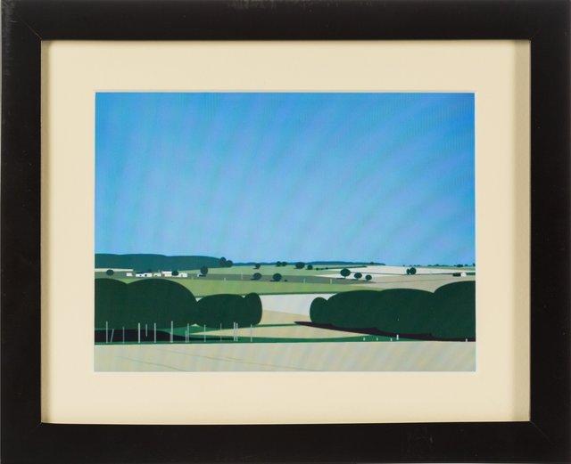 Julian Opie, 'View from my bedroom window', 2007, Heritage Auctions