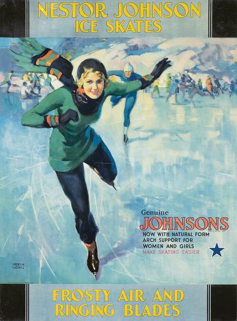 , 'Nestor Johnson Ice Skates.,' ca. 1924, Rennert's Gallery