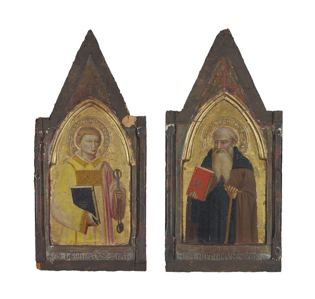 , 'Saint Leonard of Noblac; and Saint Anthony,' , Christie's Old Masters