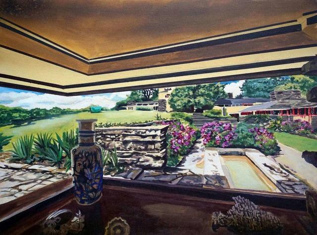 , 'Taliesen Window (Frank Lloyd Wright),' 2018, Galleri Christoffer Egelund