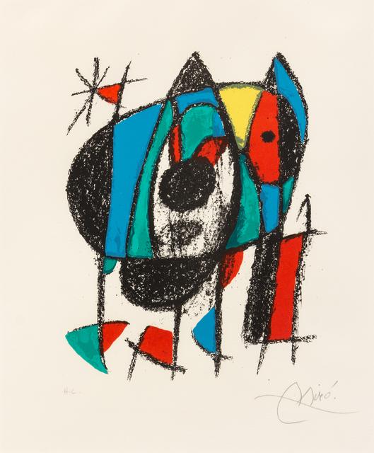Joan Miró, 'Untitled (from Miro Lithographe II)', 1975, Hindman