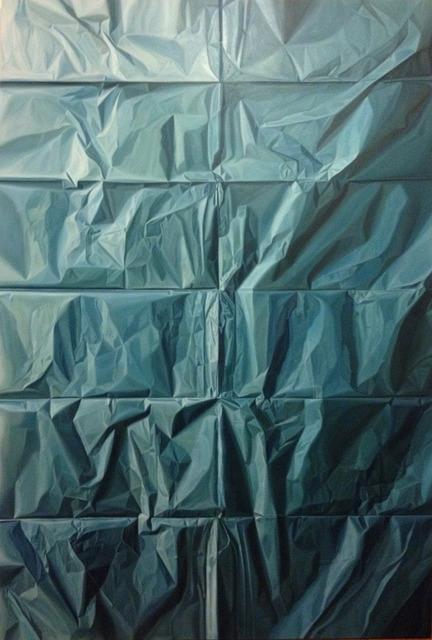 , 'Papel Azul,' 2014, XS