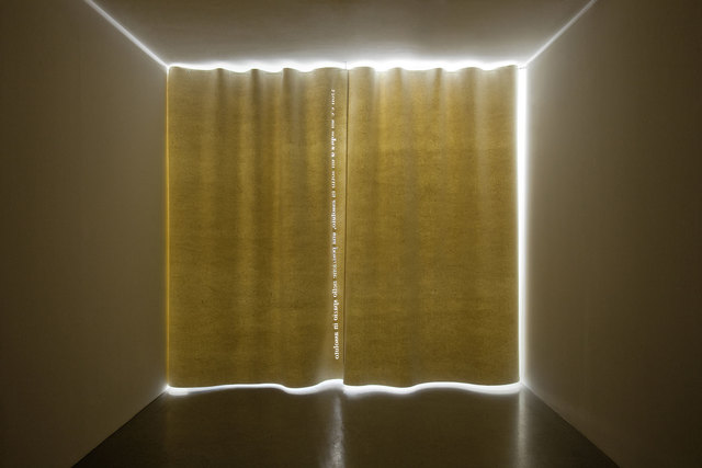 , 'White Curtain,' 2011, Parra & Romero