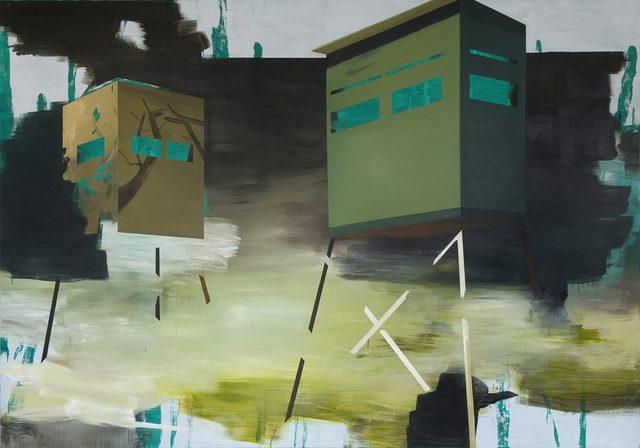 , 'Deer Blinds II,' 2008, Nosbaum & Reding