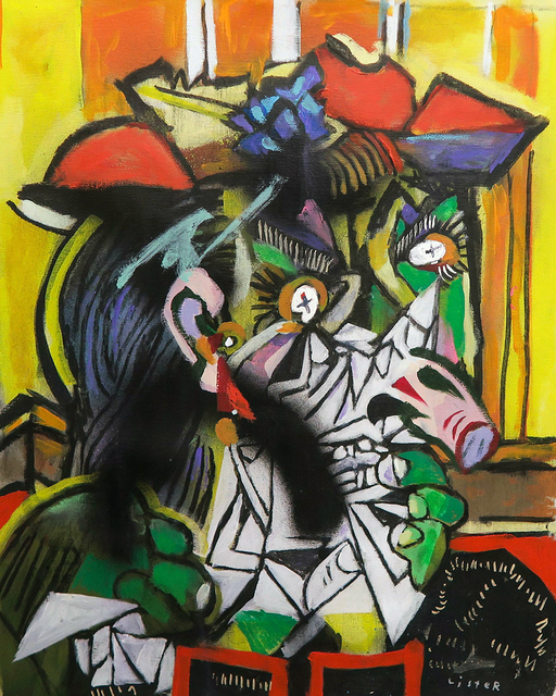 , 'WEEPING WOMAN 1937 / Homage to Pablo Picasso,' 2019, Mirus Gallery