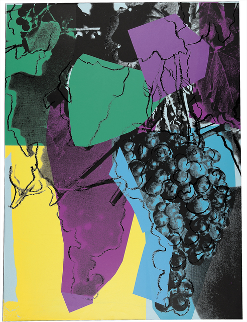 Andy Warhol, 'Grapes (F. & S. II.195)', 1979, Print, Screenprint in colors on paper, Christie's Warhol Sale