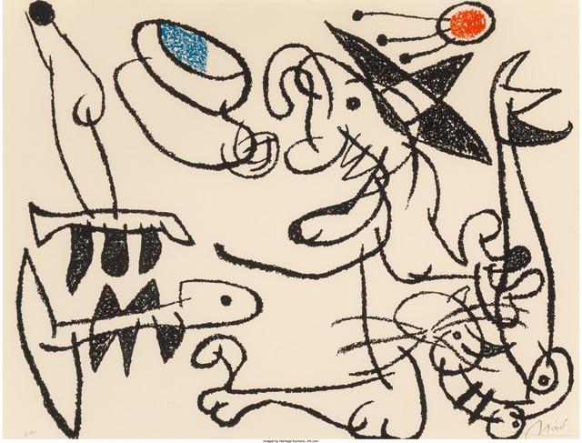 Joan Miró, 'Ubu aux baleares, pl. 29', 1971, Heritage Auctions