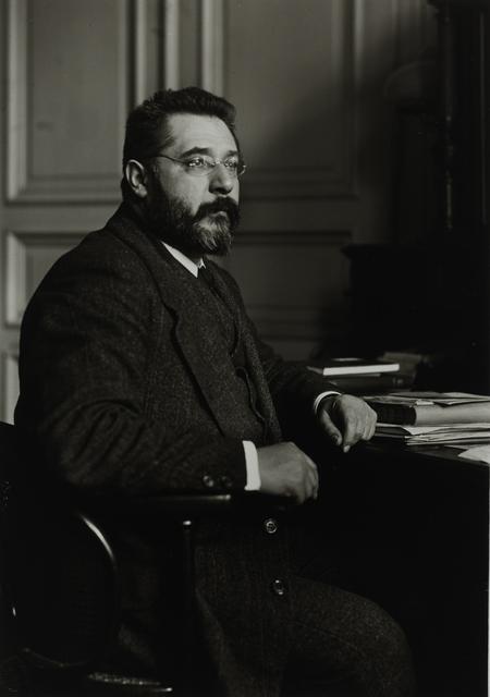 August Sander, 'Iceland Scholar and University Librarian [Heinrich Erkes], c. 1914', Galerie Julian Sander