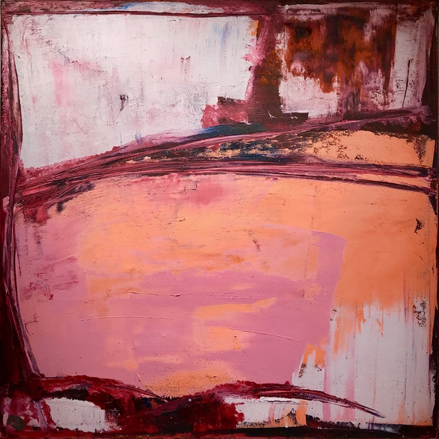 , 'Yesterday was red aka pink,' 2017, Mark Borghi Fine Art