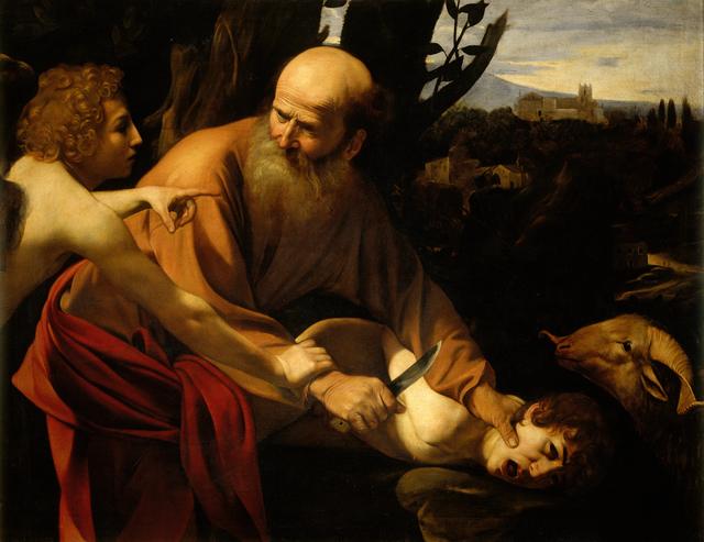 , 'El sacrificio de Isaac (The Sacrifice of Isaac),' 1603, Museo Thyssen-Bornemisza