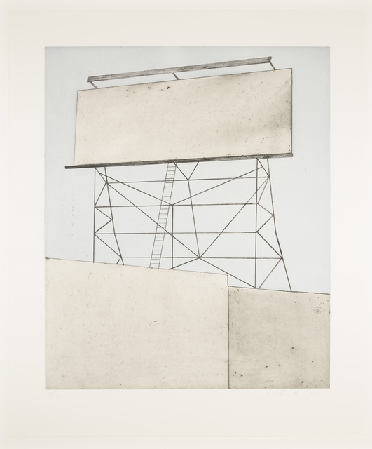 Ed Ruscha, 'Your Space on Building', 2006, Leslie Sacks Gallery