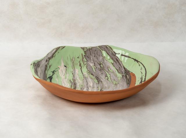 ", 'Centerpiece Ceramic by Claire de Lavallee ""UpsideDown"",' 2018, Valerie Goodman Gallery"