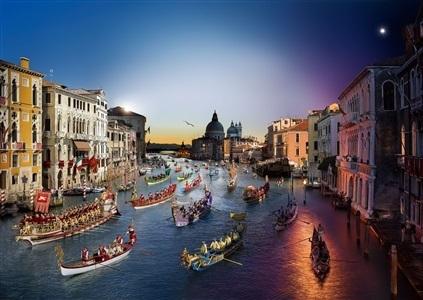 , 'Venice Regata,' , Tulla Booth Gallery