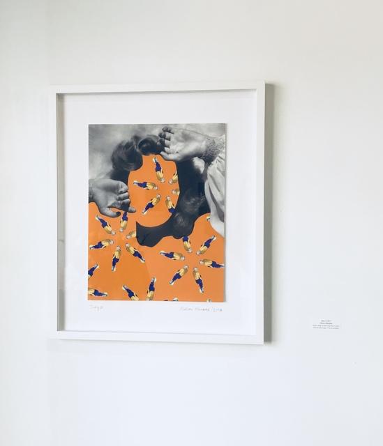Nelson Munares, 'Judy 2', 2017, Print, Digital collage inkjet print on photo rag fine art paper, Superposition